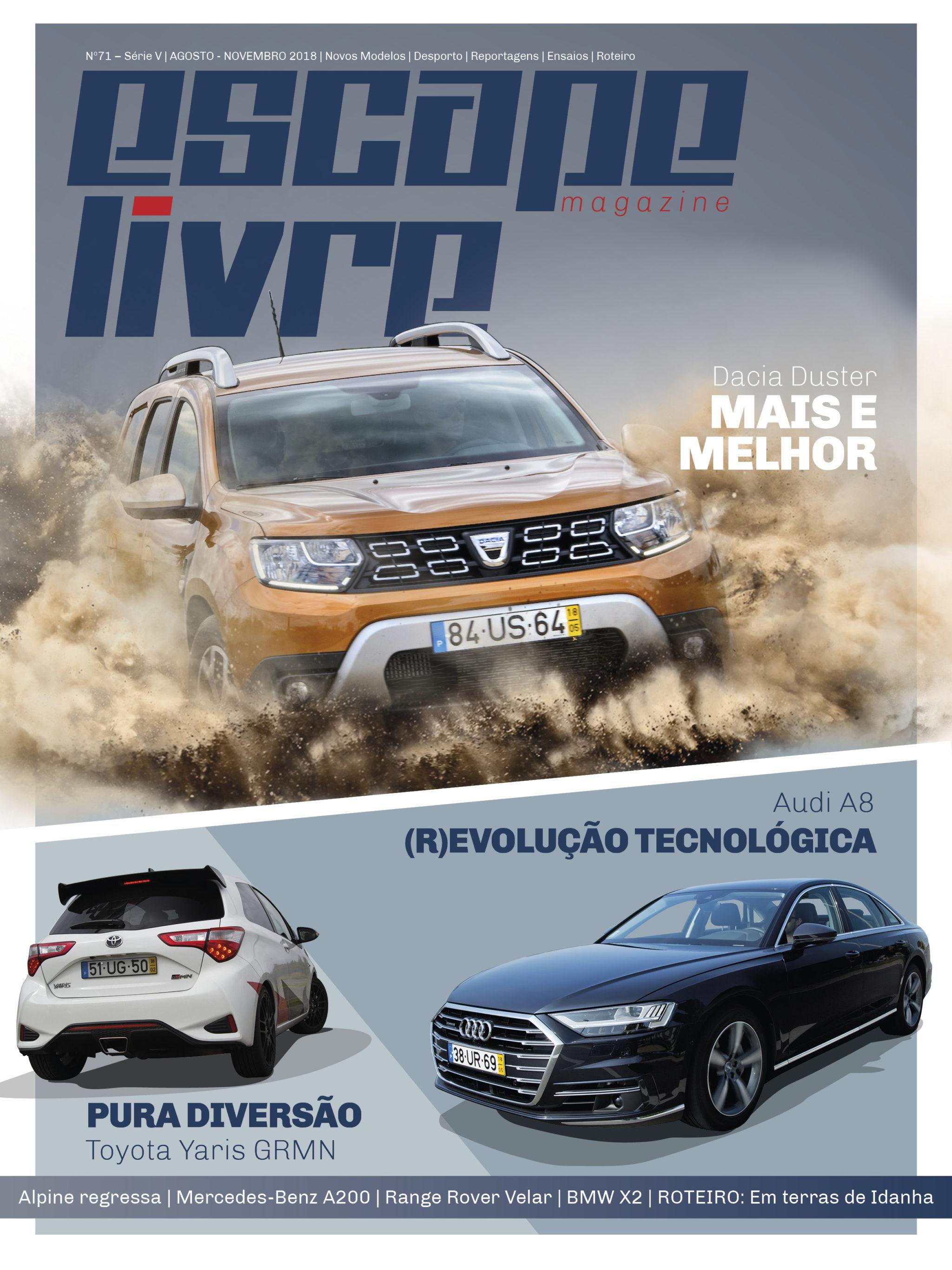 Capa Escape Livre Magazine 71