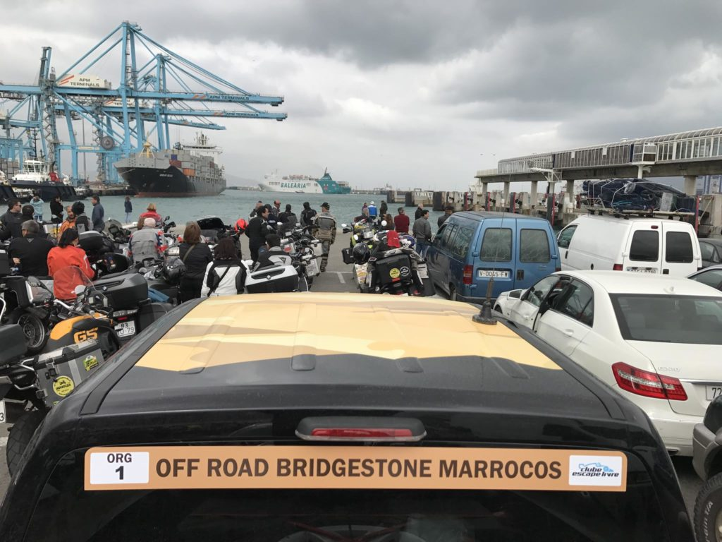 Off Road Bridgstone First Stop Marrocos 2017