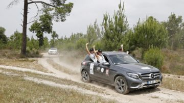 She's Mercedes Off Road Experience
