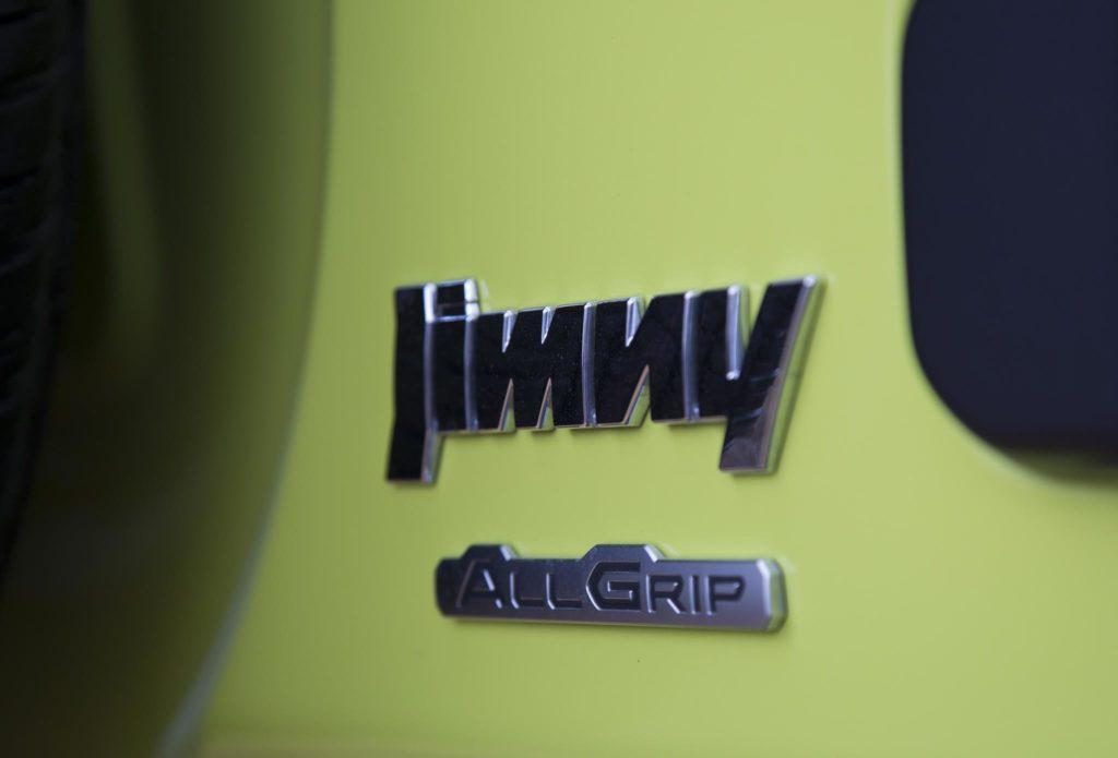 Lettering Jimny AllGrip
