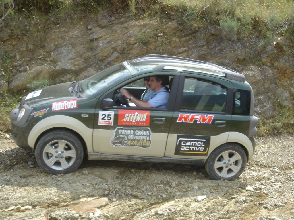 Fiat Panda Cross Adventure 2007 33