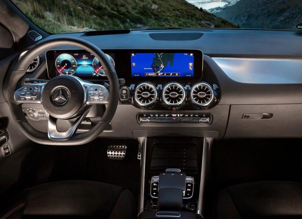 Mercedes Benz Classe B Interior2
