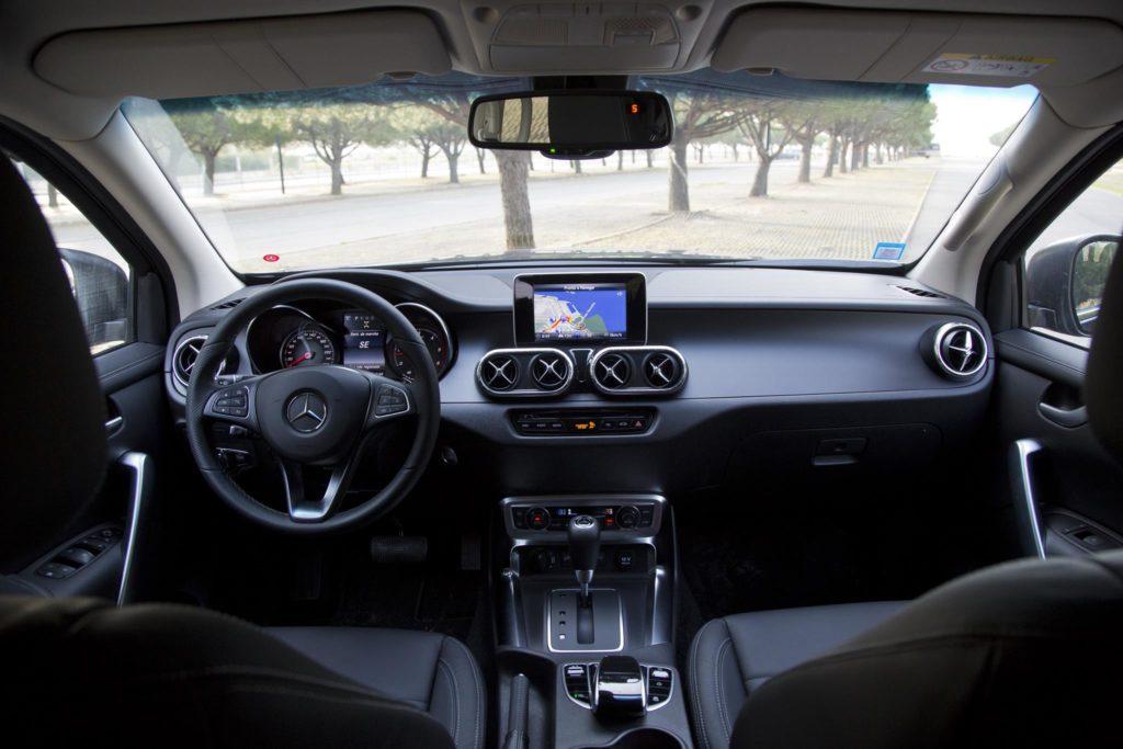 Mercedes Benz X350d