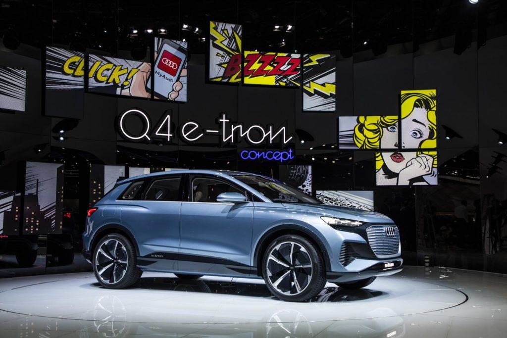 Audi Q4 e tron Genebra 2019