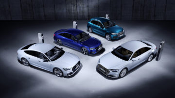 Audi e tron plug in