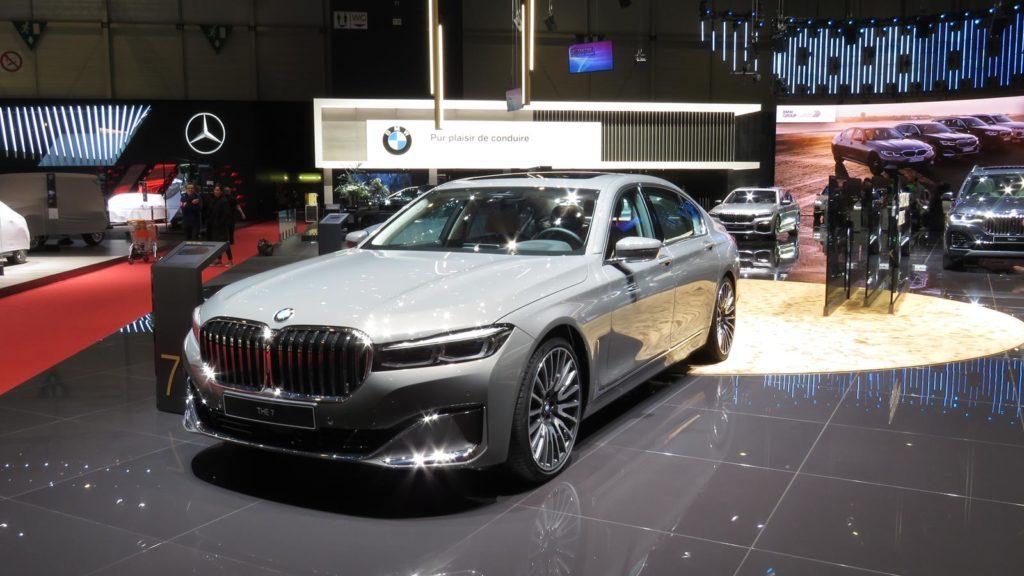 BMW Série 7 genebra 2019