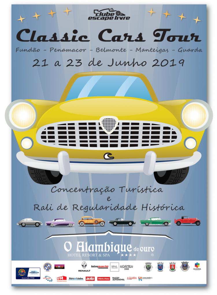 Cartaz Classic Cars Tour