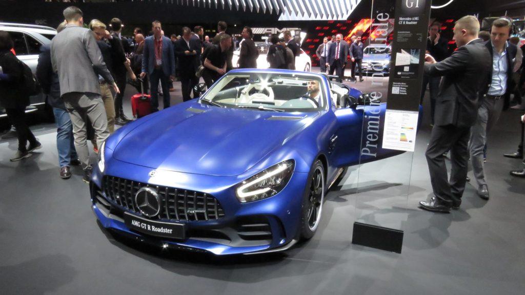 Mercedes AMG GT R Roadster Genebra 2019