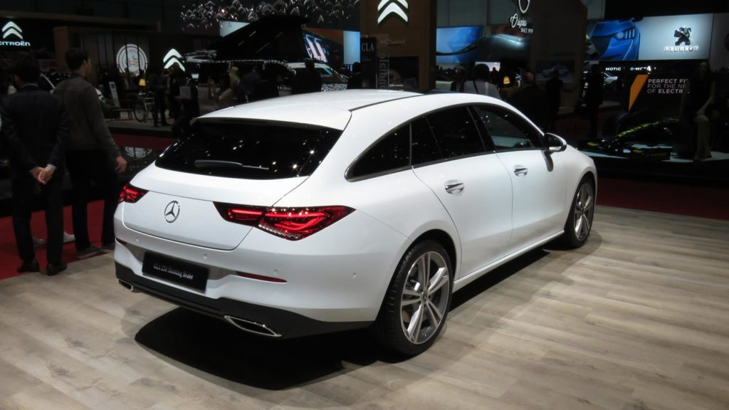 Mercedes Benz CLA Shooting Brake Genebra 2019 1