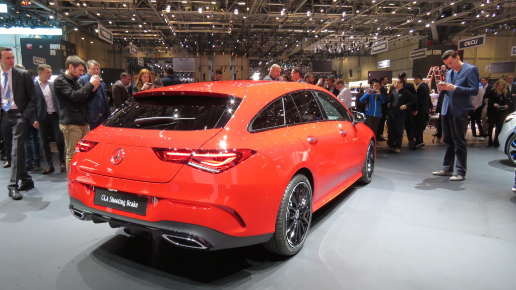 Mercedes Benz CLA Shooting Brake Genebra 2019
