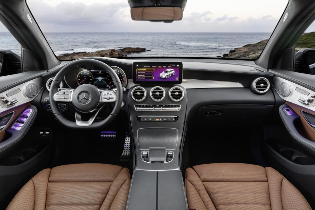 Mercedes Benz GLC Genebra 2019 1