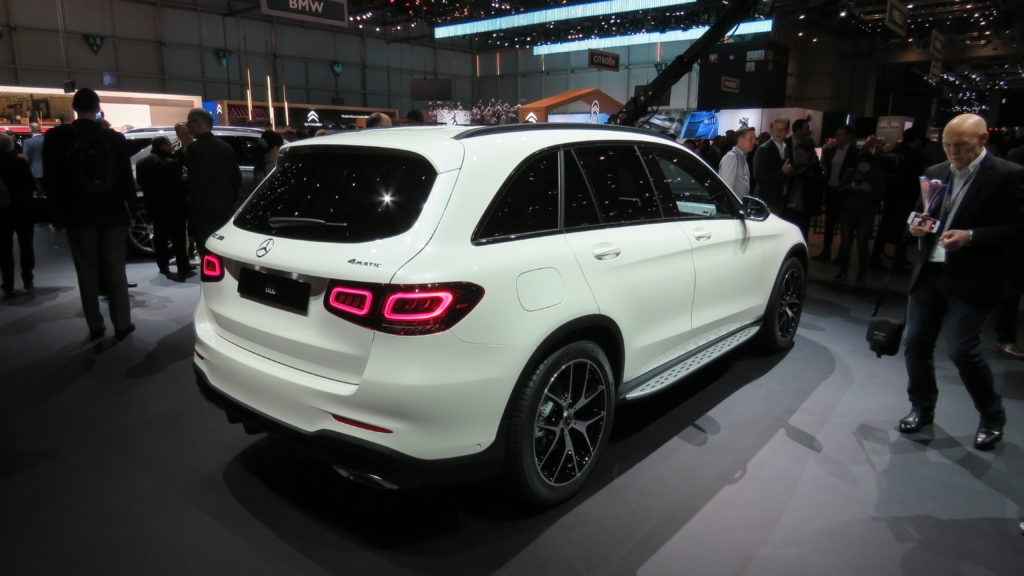 Mercedes Benz GLC Genebra 2019