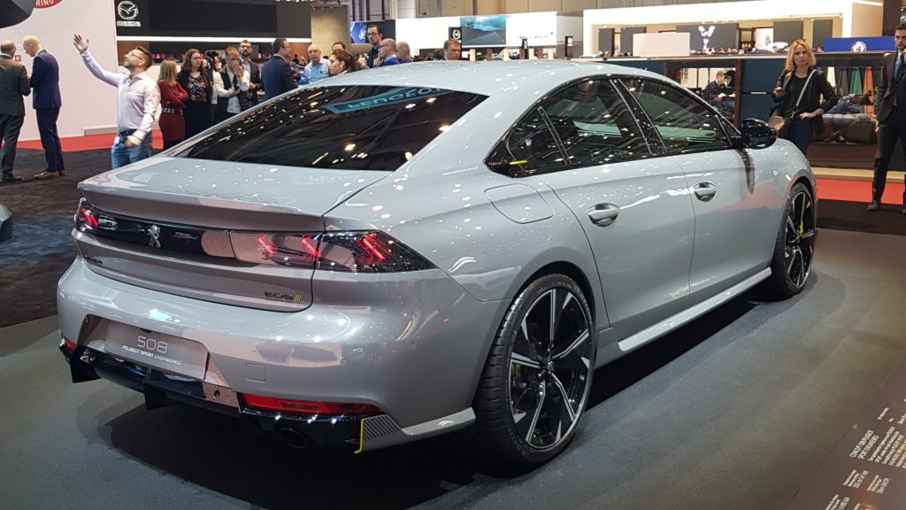 Peugeot 508 Engineered by Peugeot Sport
