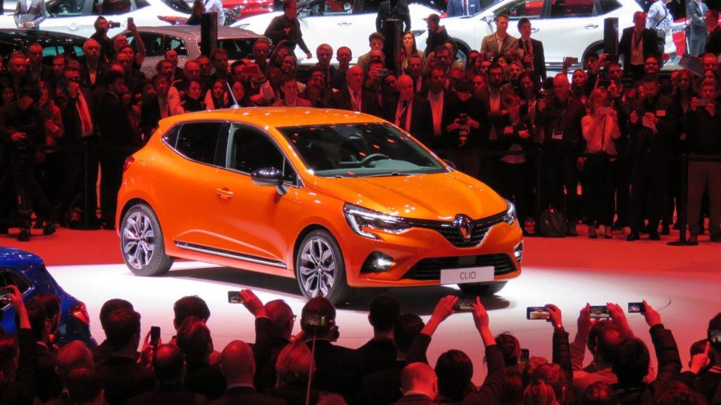 Renault Clio V Genebra 2019 2