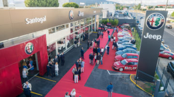 Santogal Estoril Jeep Alfa Romeo