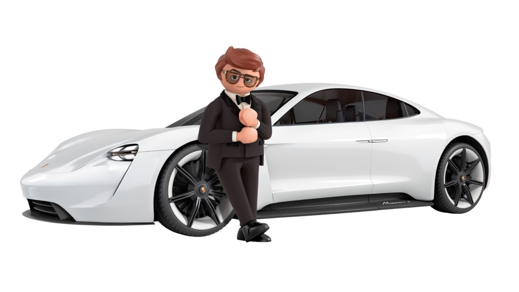 Porsche mission e playmobil the movie 2019