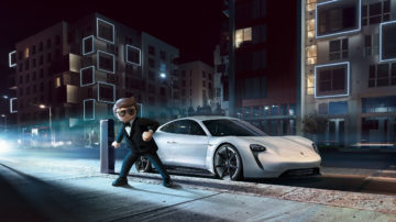 Porsche mission e playmobil the movie 2019 2