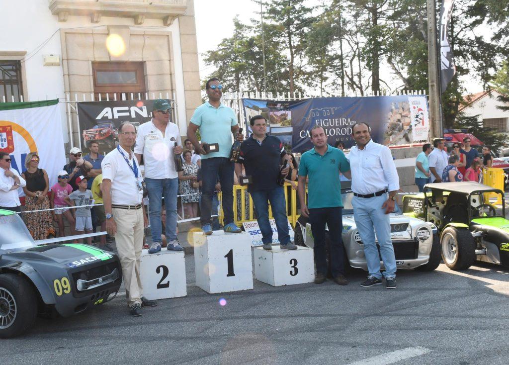 XXI Slalom Sprint Castelo Rodrigo pódio 1ª GPA domingo