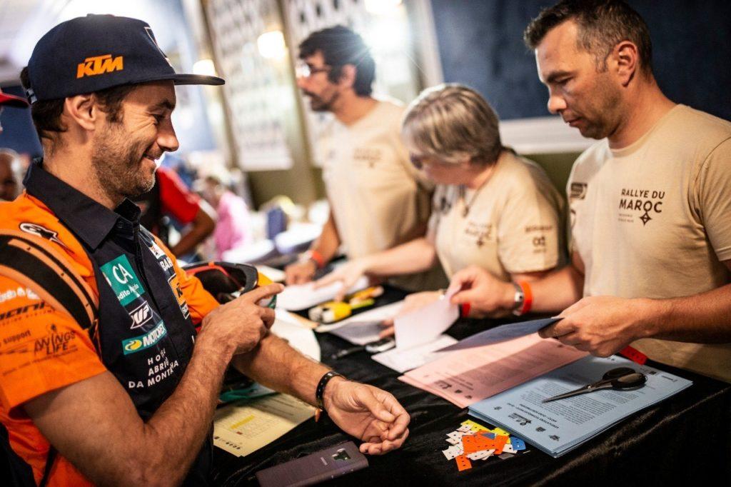 Mario Patrao no Rallye du Maroc 2019
