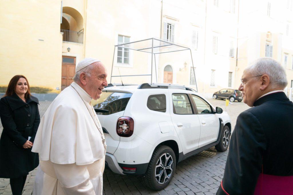 Dacia no Vaticano