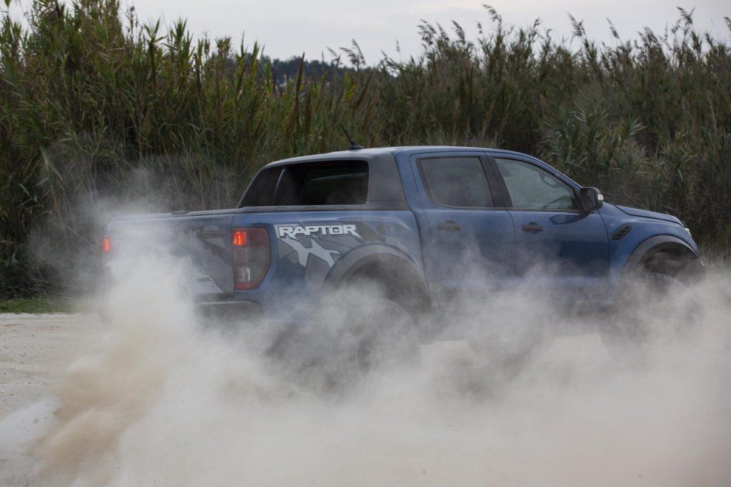 Ford Ranger Raptor 45