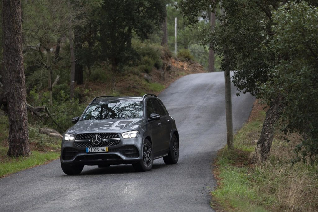 Assinatura LED do Mercedes-Benz GLE