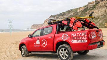 Mercedes Benz vigia praia da Nazaré 5