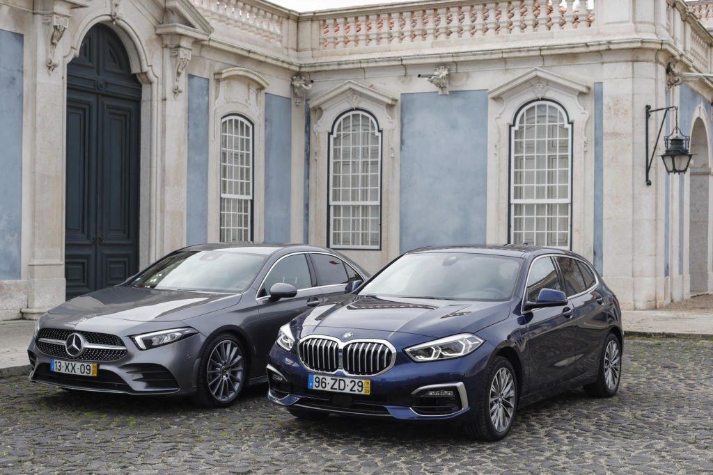 BMW 118i vs Mercedes Benz A200 ELM75 52