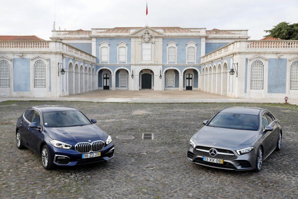 BMW 118i vs Mercedes Benz A200 ELM75 67