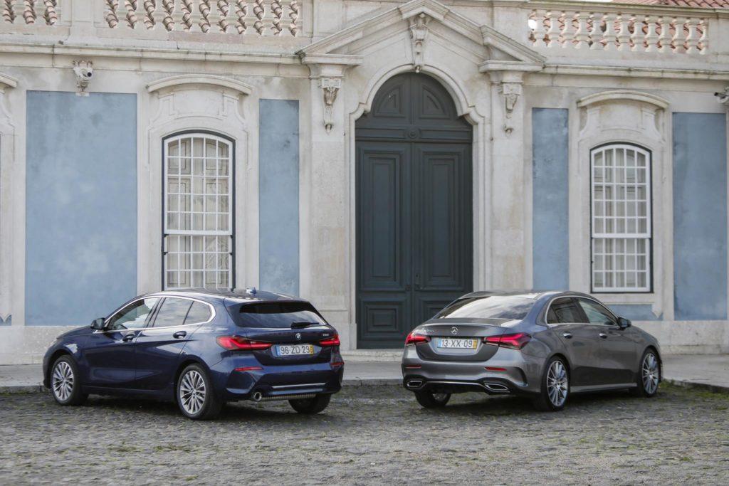 BMW 118i vs Mercedes Benz A200 ELM75 7