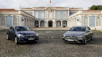 BMW 118i vs Mercedes Benz A200 ELM75 73