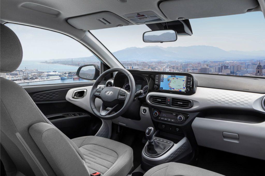 Hyundai i10 vista tablier