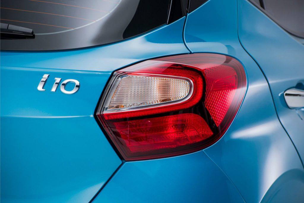Hyundai i10 pormenor traseiro