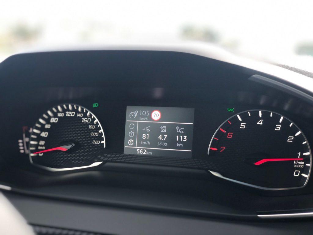 Peugeot 208 consumo registado