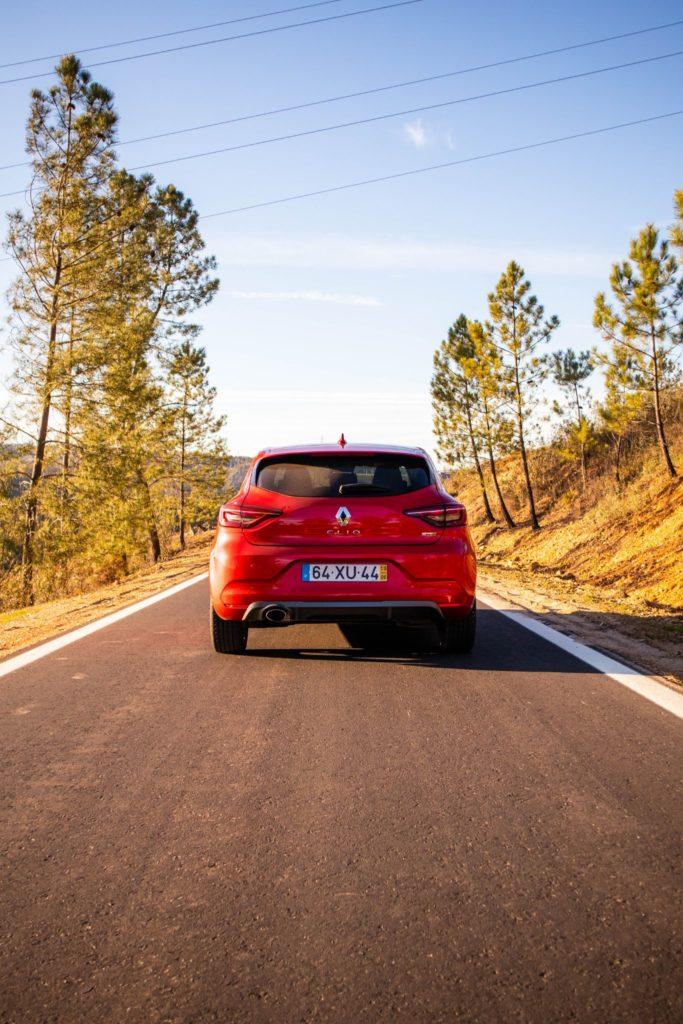 Renault Clio traseira