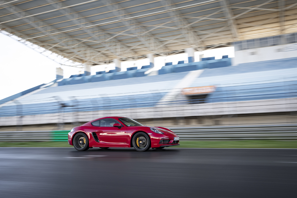 718 Cayman GTS Carmine red 6
