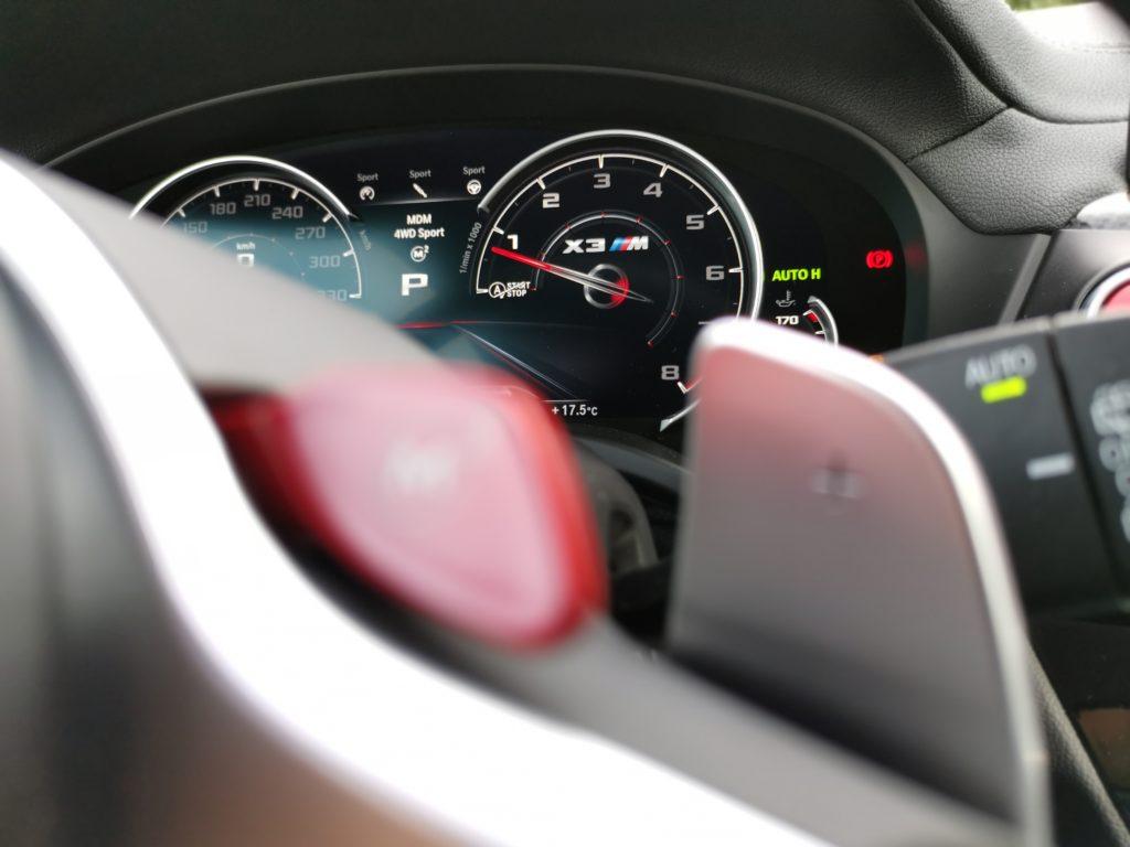 BMW M button 2