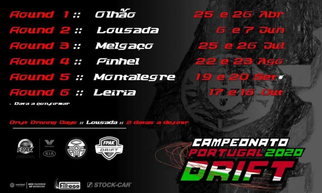 Campeonato Portugal Drift 2020