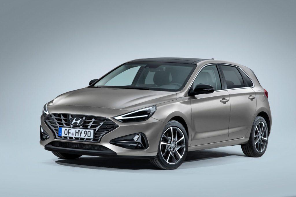 Hyundai i30 vista de frente