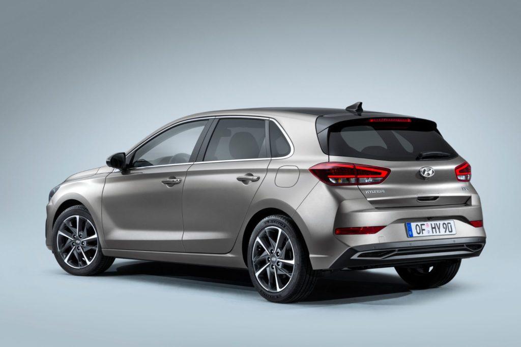 Hyundai i30 vista traseira