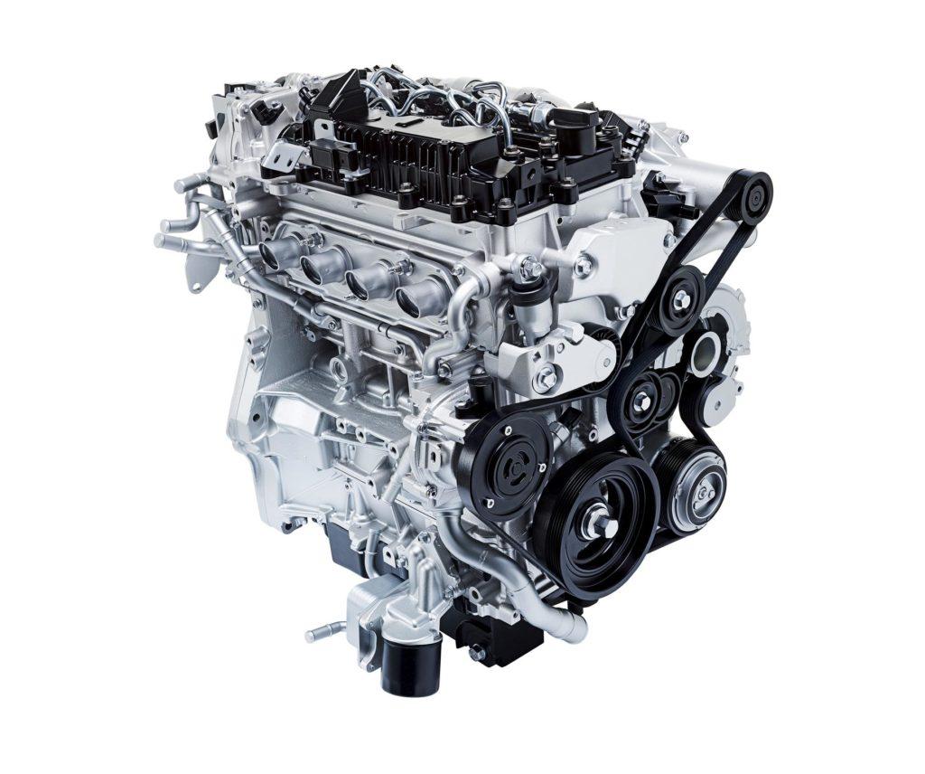 Mazda Skyactiv X Engine 1