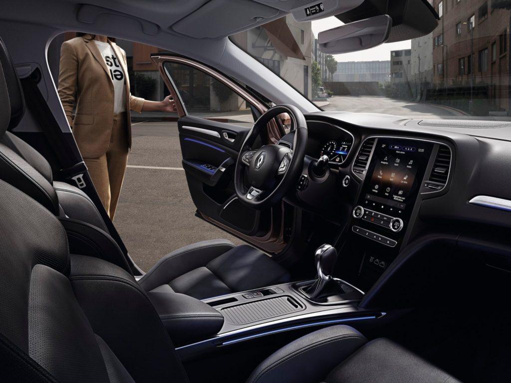 Renault Megane vista interior