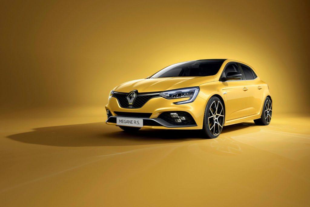 Renault Megane RS vista dianteira