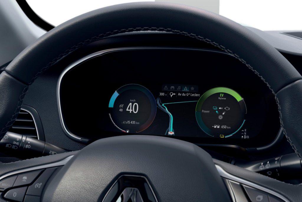 Renault Megane cockpit
