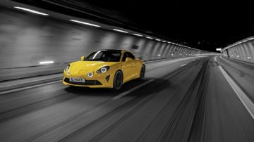 Alpine A110 S Yellow 1