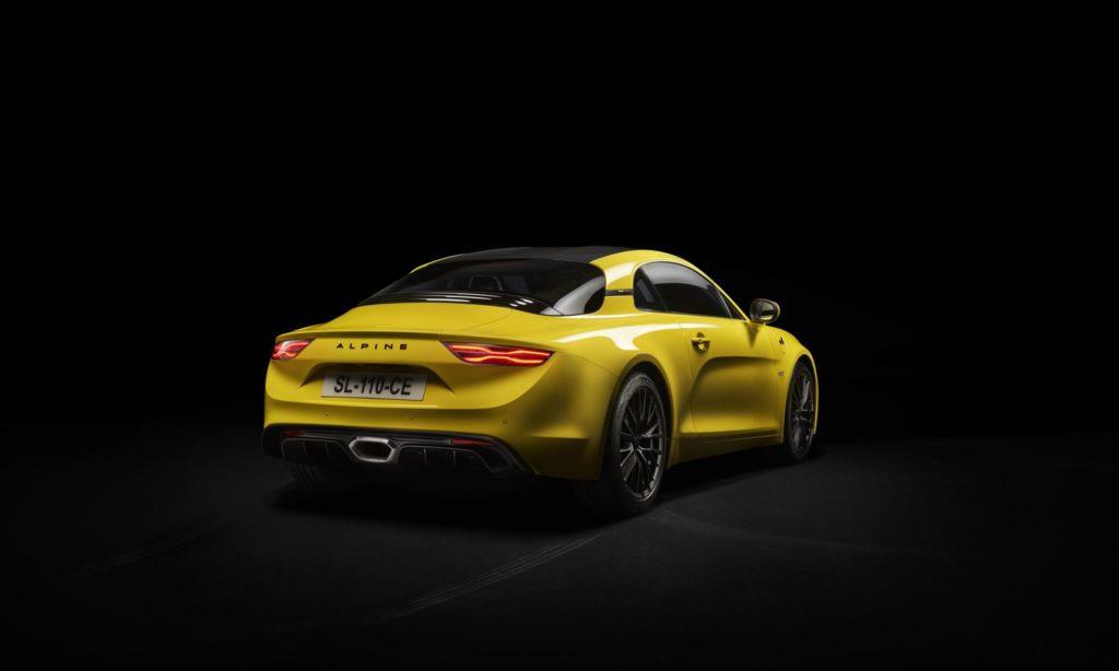 Alpine A110 S Yellow 3