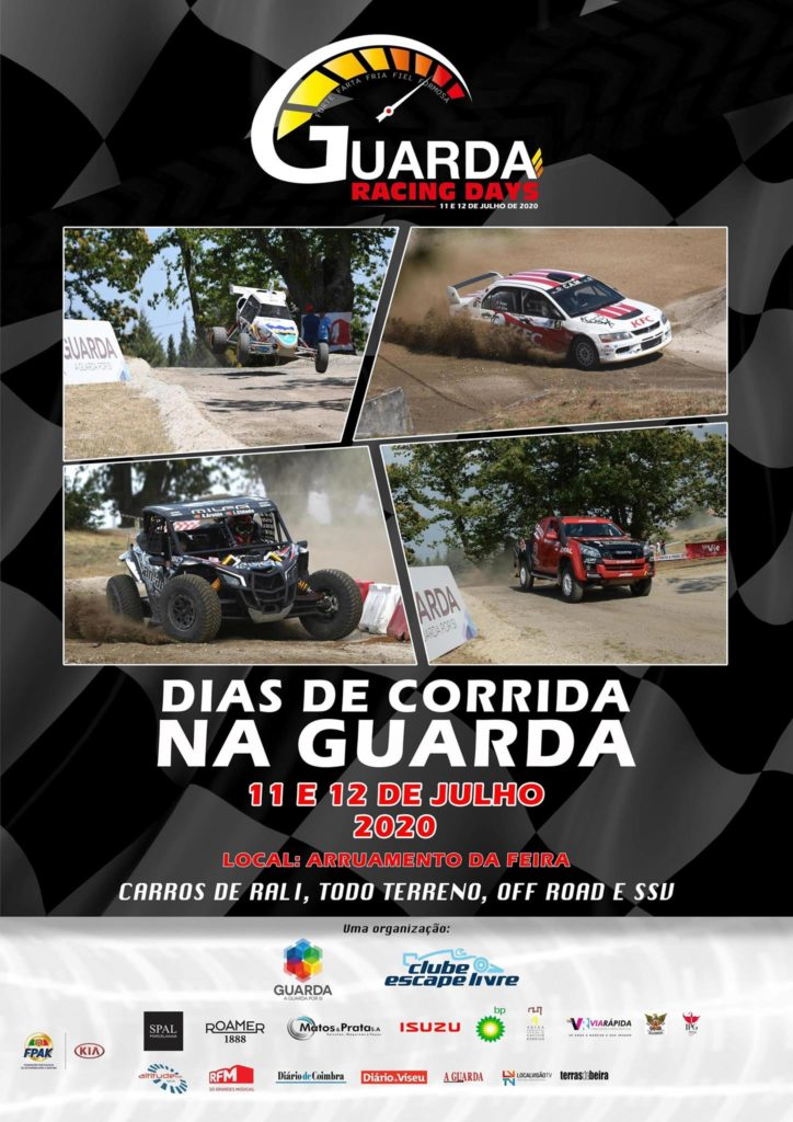 Cartaz Guarda Racing Days 2020