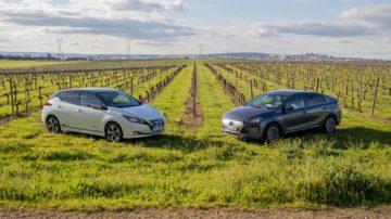 Comparativo Nissan Leaf vs Hyundai Ioniq 44