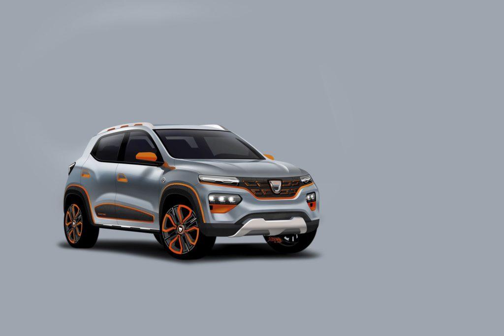 Dacia Spring Electric Concept 2020 1 2