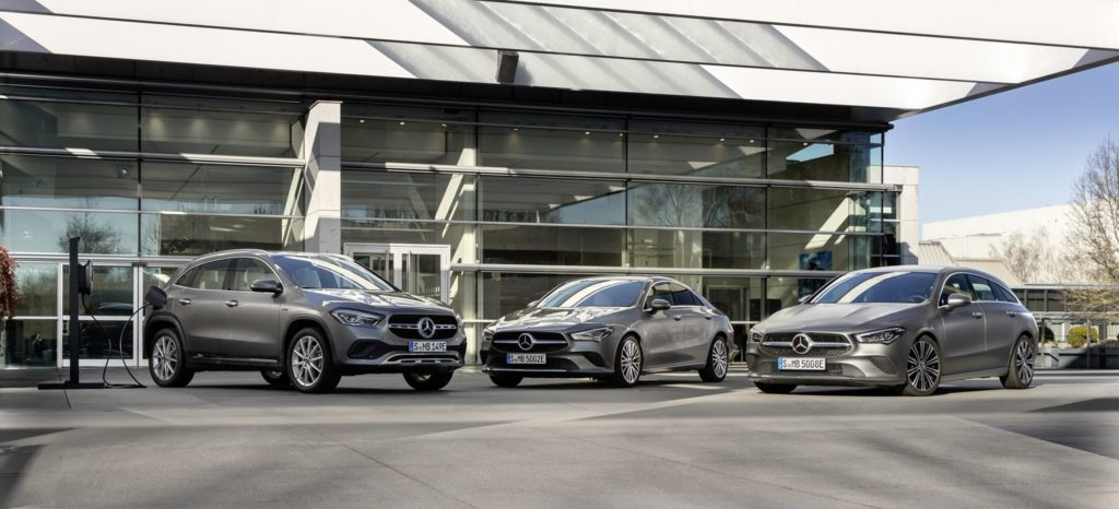 Mercedes Benz plug in 2020 1